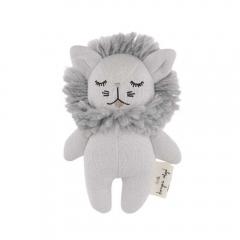 Hochet Mini Lion Grey