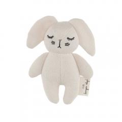 Hochet Mini Rabbit Off-white