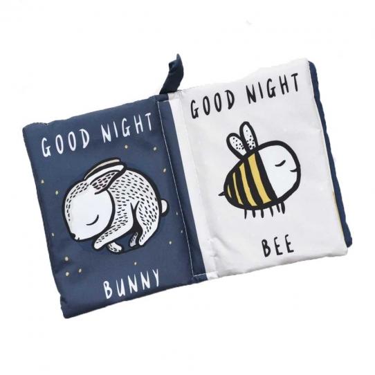 Livre en tissu - Good night you, good night me