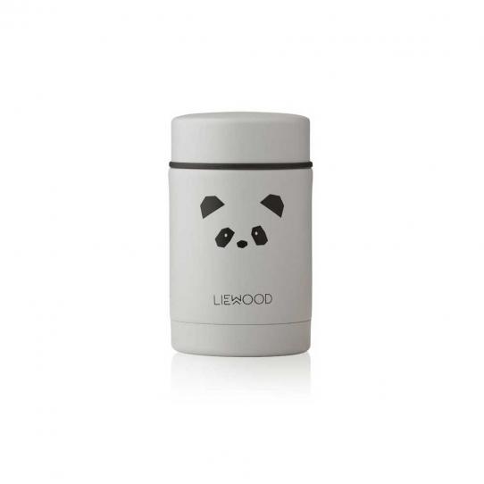 Boîte repas isotherme Nadja 250 ml | Panda light grey