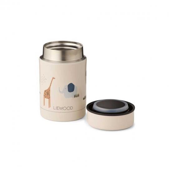 Boîte repas isotherme Nadja 250 ml | Safari sandy mix