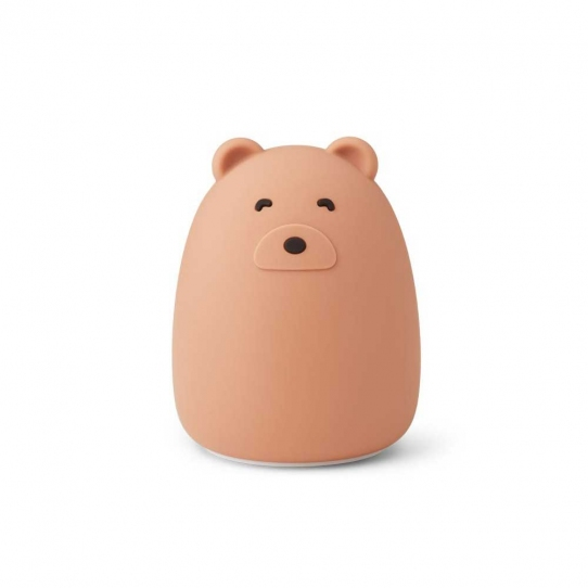 Veilleuse rechargeable Winston - Mr Bear tuscany rose