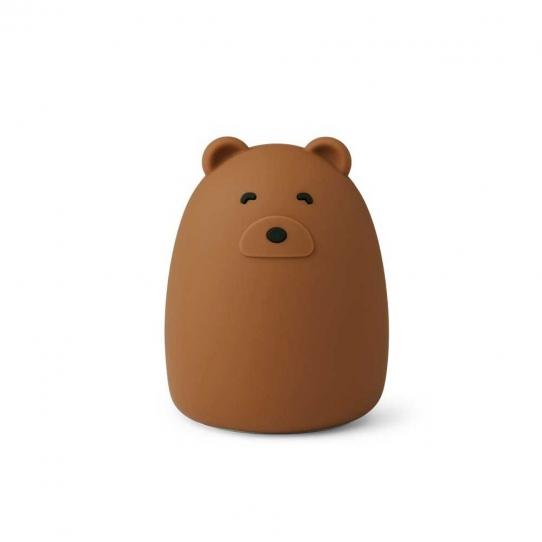 Veilleuse rechargeable Winston - Mr Bear golden caramel