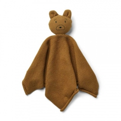 Doudou Maille Milo - Mr bear golden caramel