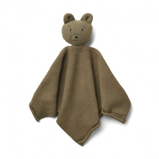Doudou Maille Milo - Mr bear khaki
