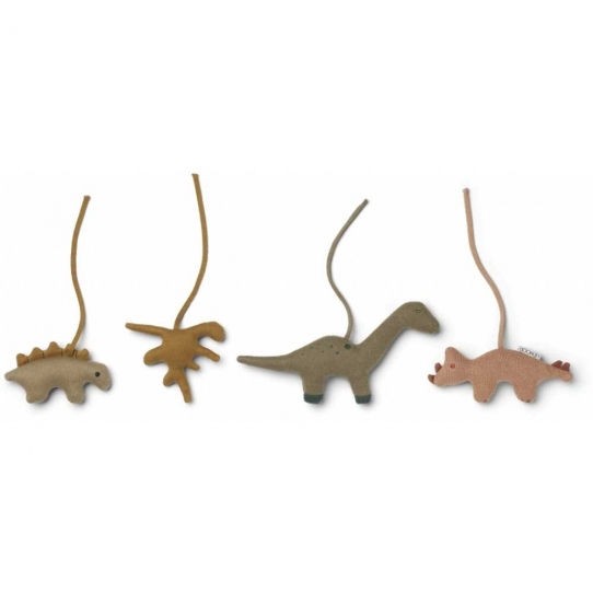 Accessoires Gio pour arche d'éveil - Dino golden caramel