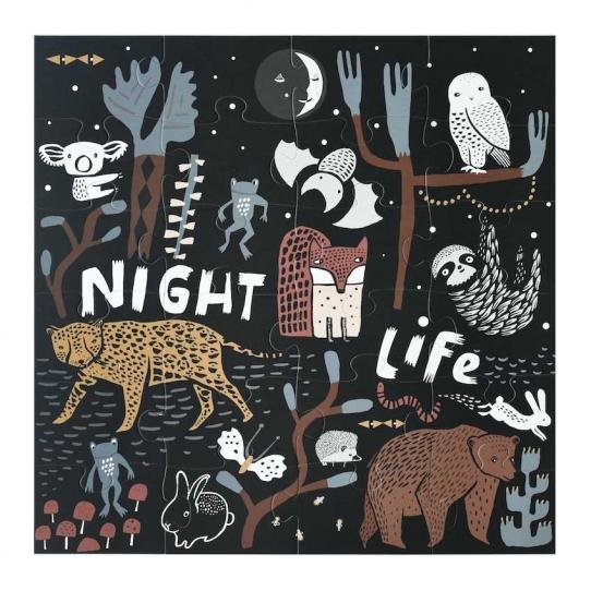 Puzzle de sol - Night life