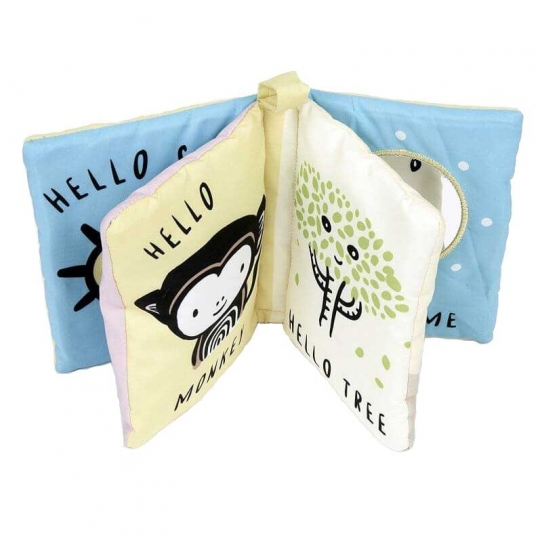 Livre en tissu - Hello you, hello me